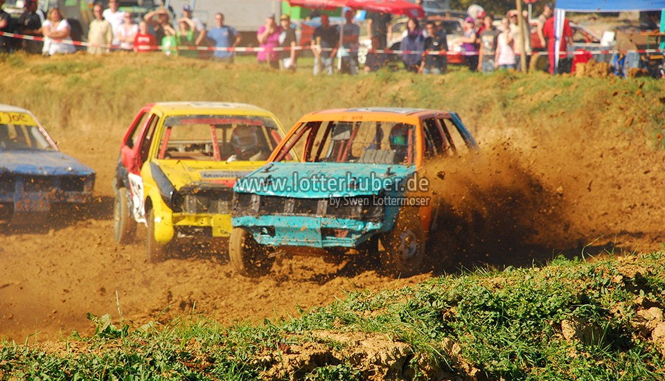 Stock-Car-Rennen in Tettenagger – fotografiert 2011
