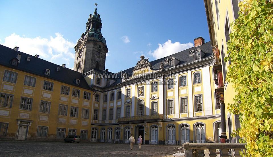 Heidecksburg Rudolstadt – fotografiert 2006